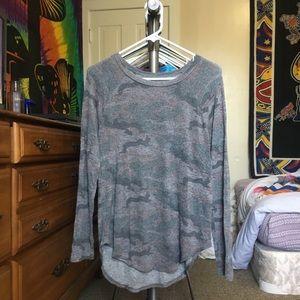 American Eagle Soft & Sexy Camo Long Sleeve